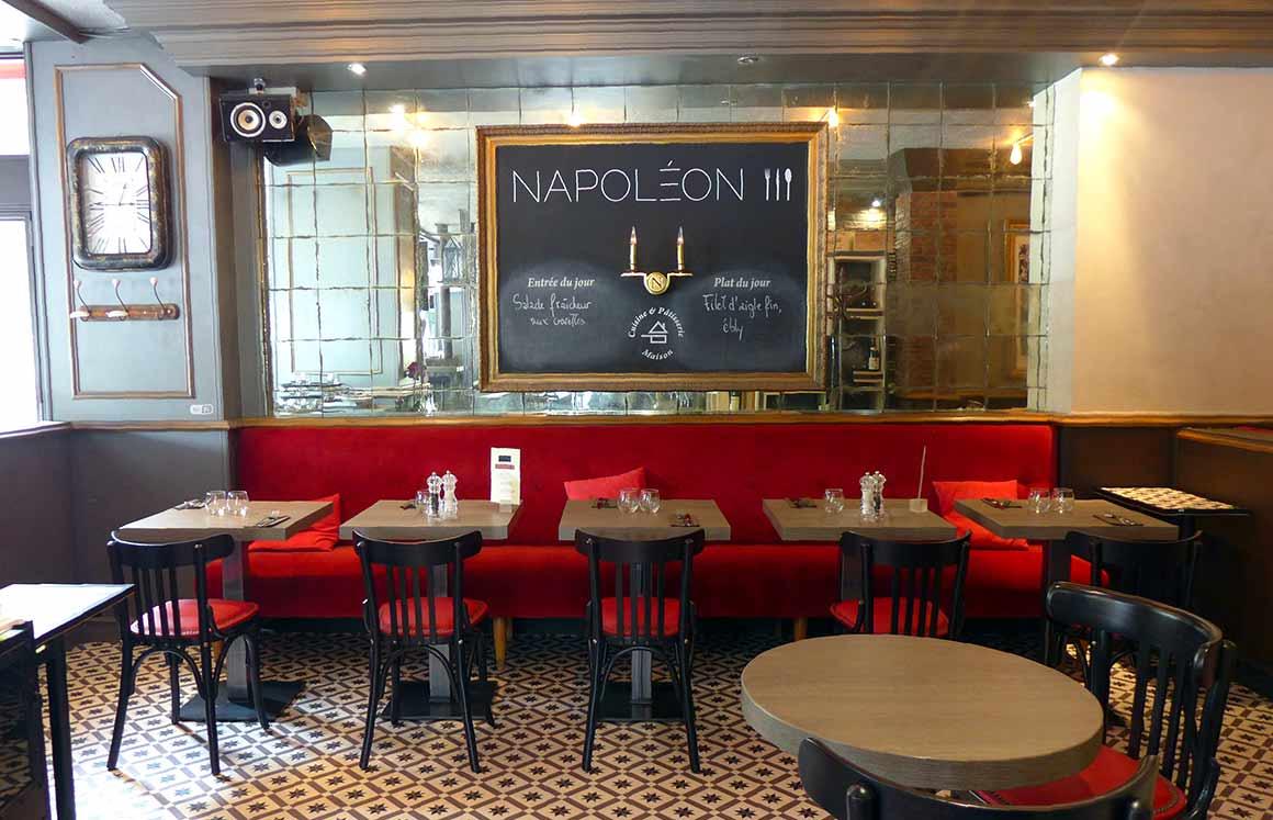 Brasserie Napoléon III, La salle