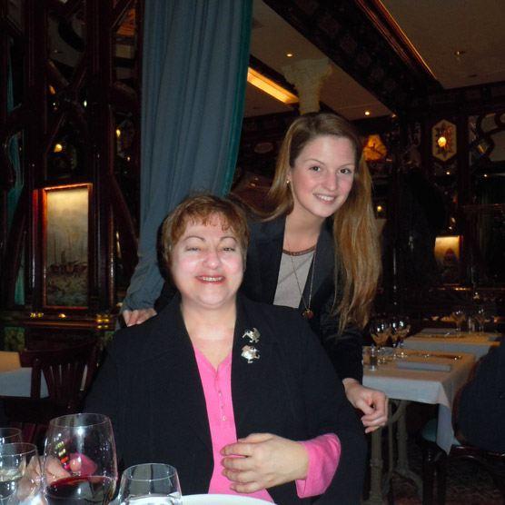 Monique Egurreguy et sa fille Marie