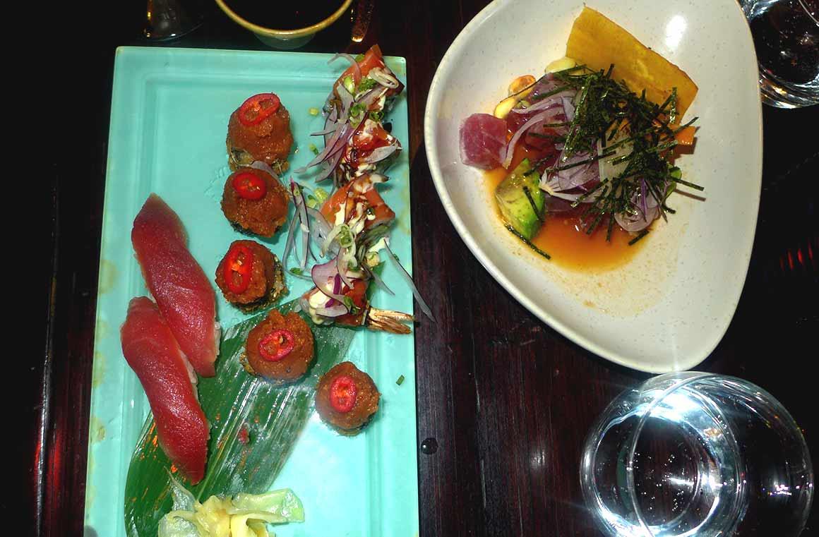 Restaurant Buddha Bar, un plat