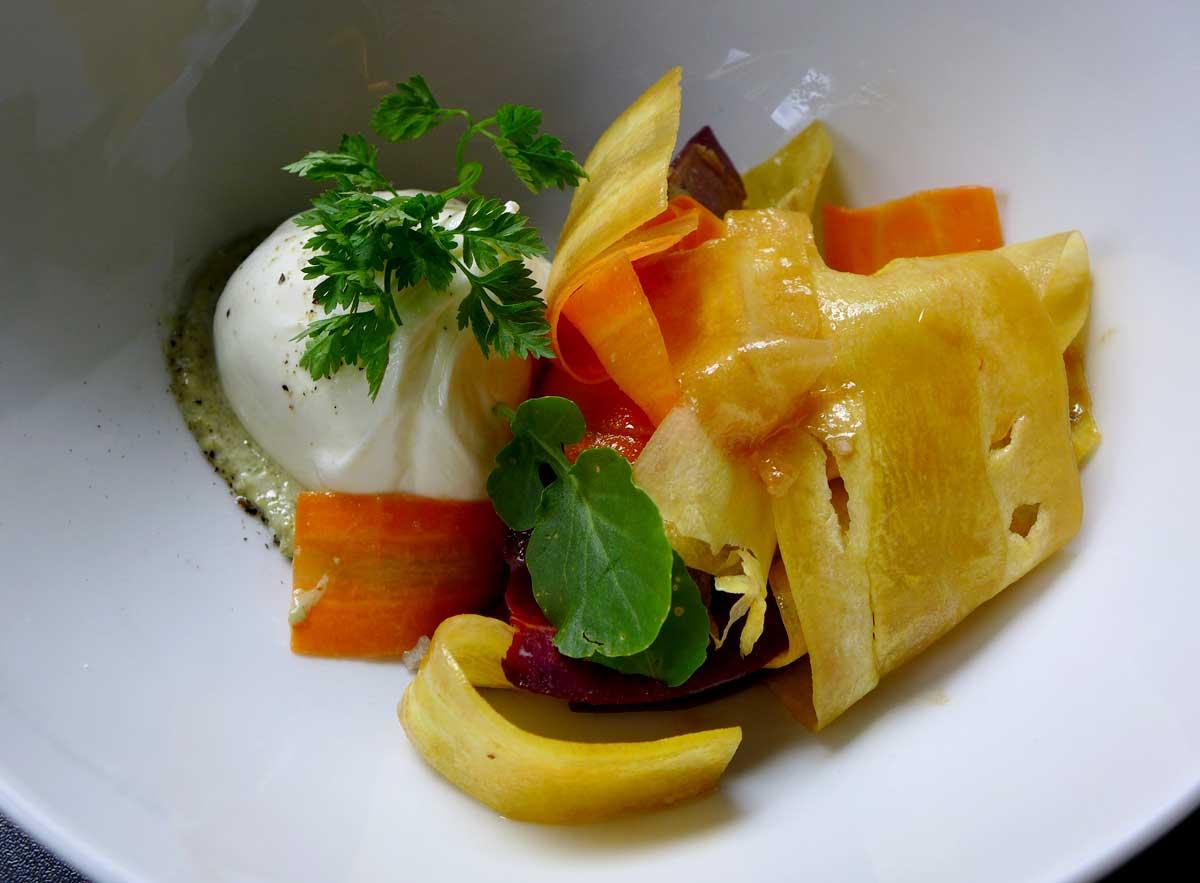 Bistrot Cachette, buratina crème de sauge