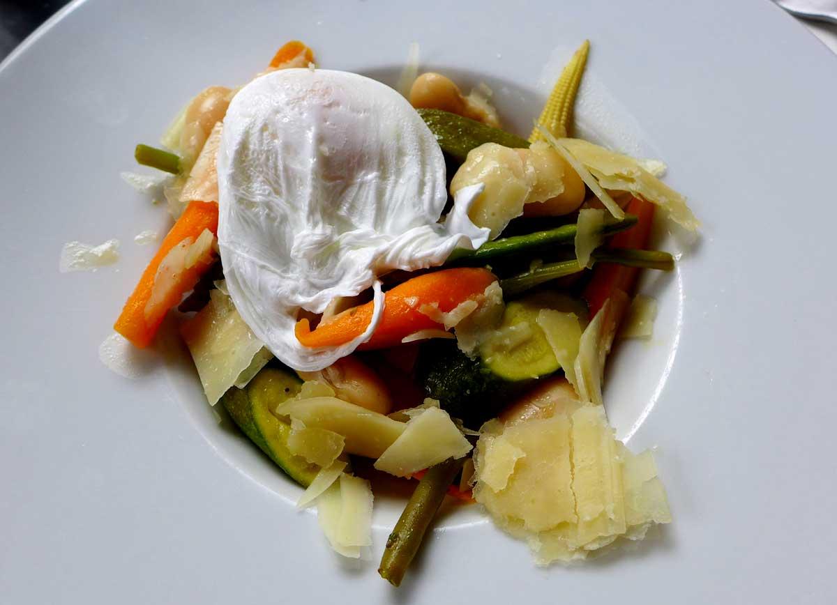 Bistrot Cachette, poêlée de légumes au thym-citron