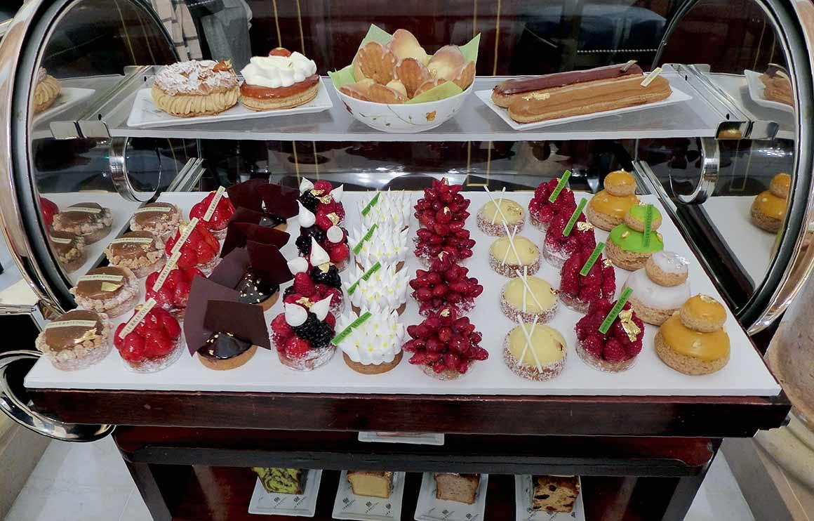 Café Antonia, Le chariot des desserts