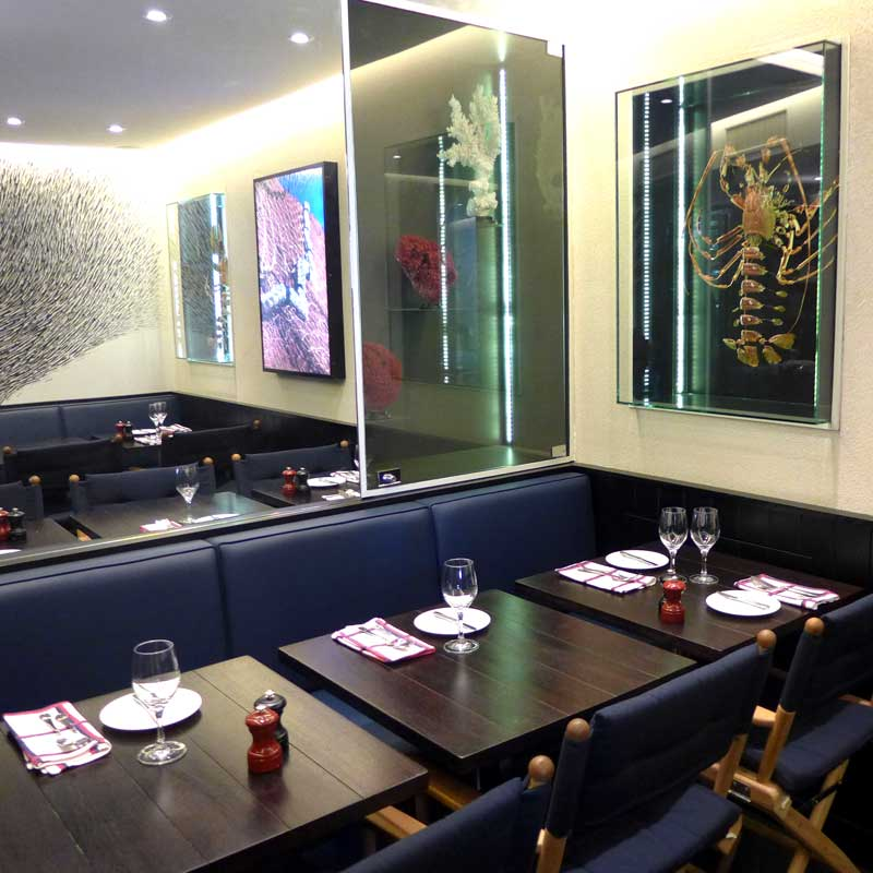 Restaurant Café des Ministères : La salle