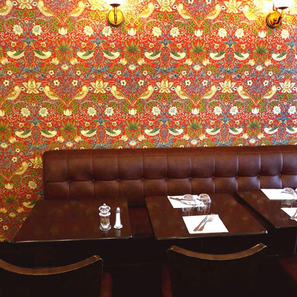 Restaurant Café Ludwig, La salle