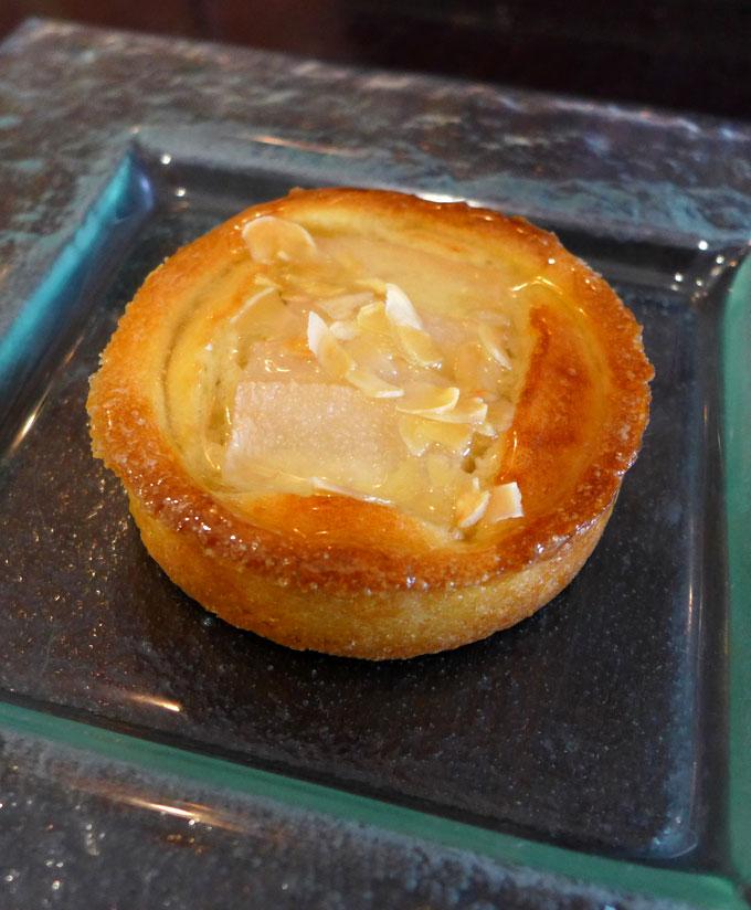 Restaurant Café Ludwig, Tarte aux poires façons Bourdaloue