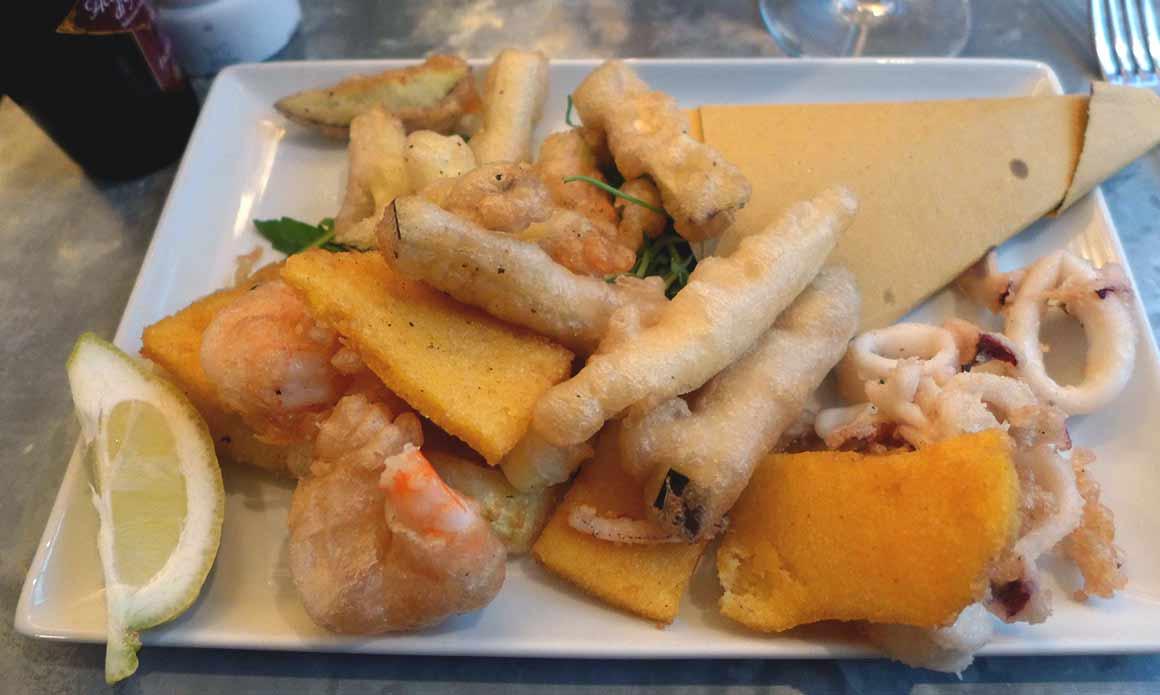 Restaurant Café Martini, Fritto misto