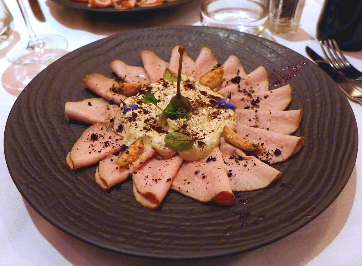 Restaurant Caffè Artcurial : Le vitello tonnato