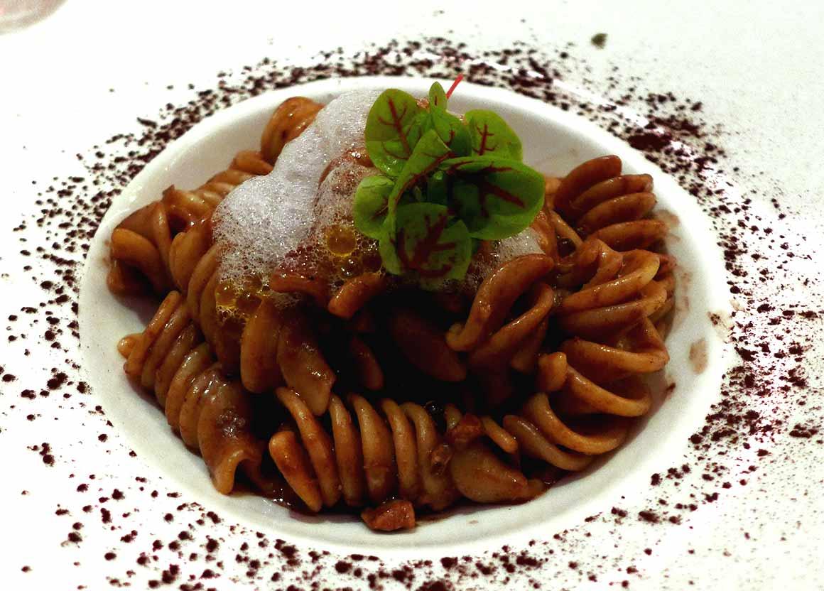 Restaurant Caffè Artcurial : Les fusilloni au ragoût de veau