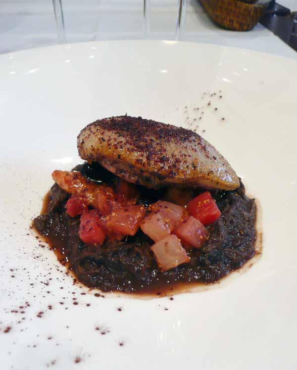 Le Restaurant Caïus, Le canard sauvage au Sumac