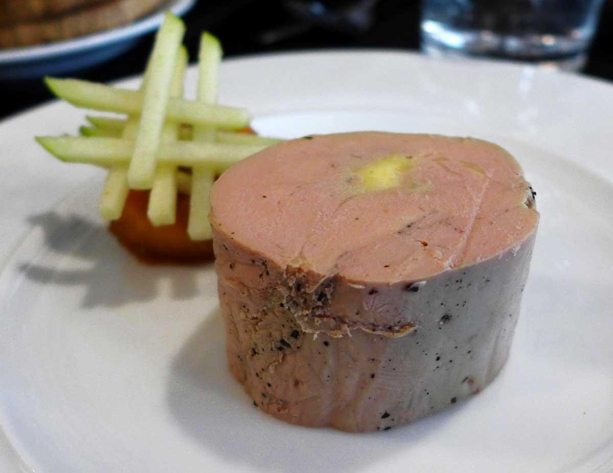 Restaurant Le Carton Rouge, foie gras de canard