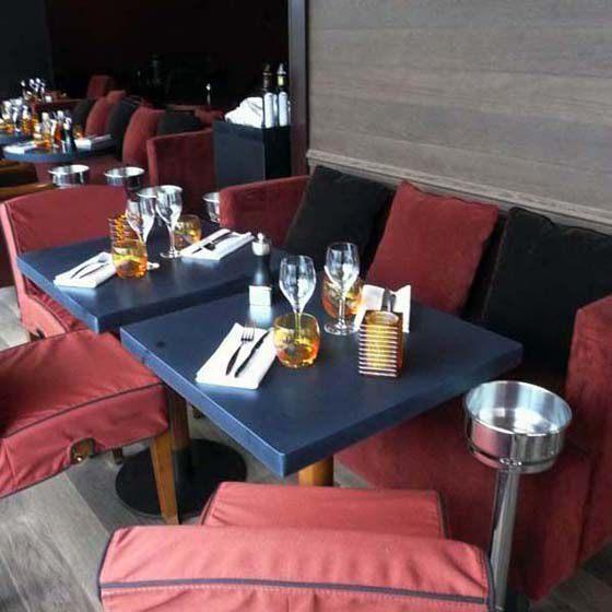 Restaurant Casa Luca, Le confort du mobilier
