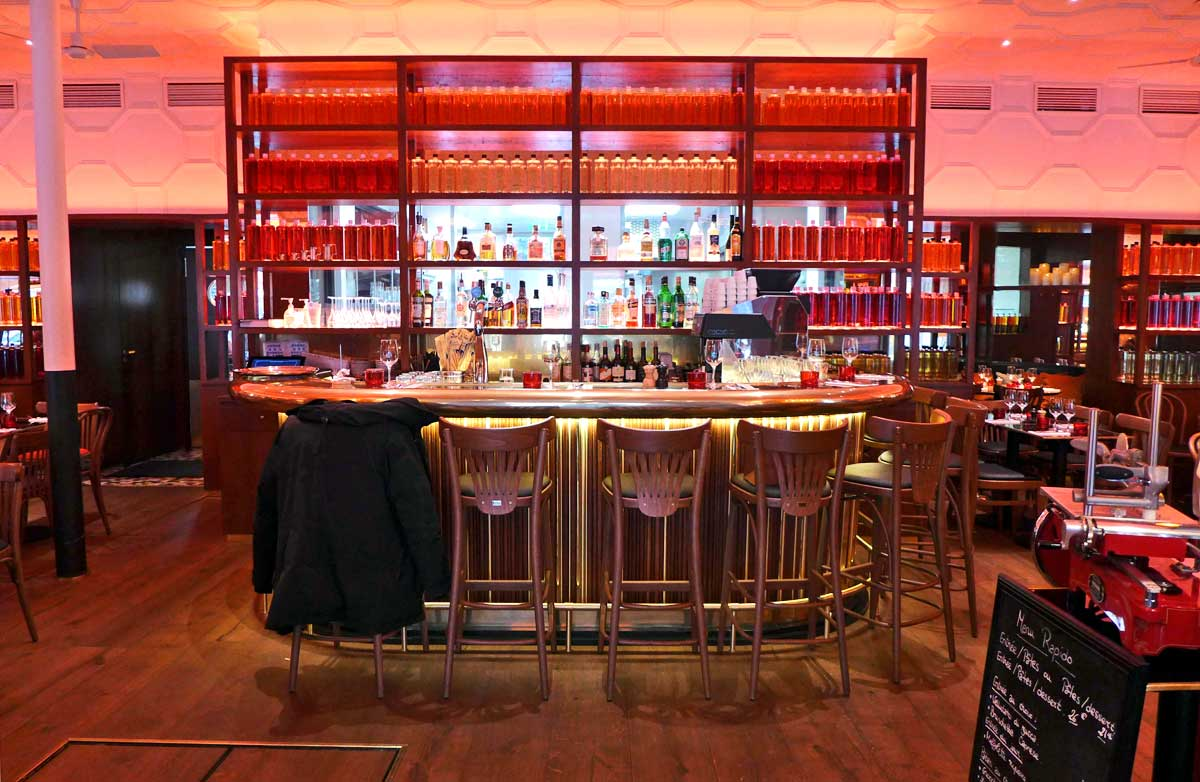 Restaurant Casa Luca Niel : La salle