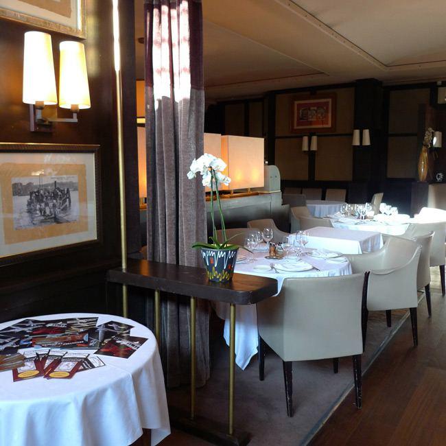 Restaurant Chez Françoise, la salle