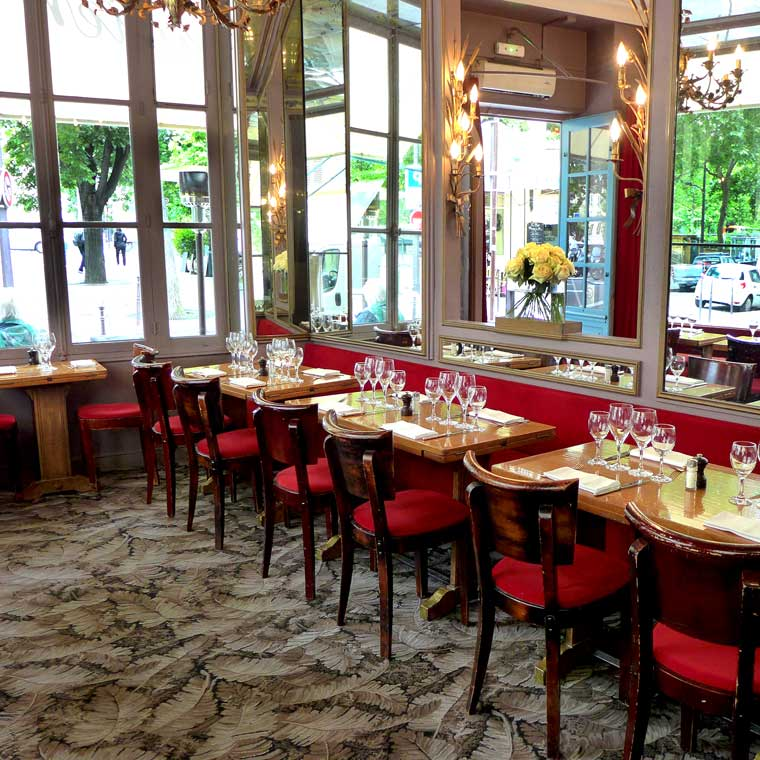 Restaurant Chez Julien : La salle