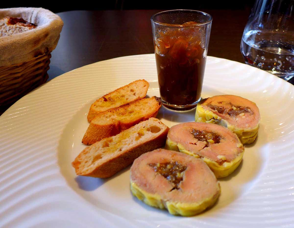 Restaurant Chez Léon, Foie gras de canard aux figues