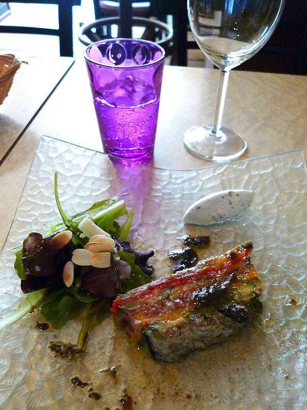 Restaurant Chez Loulou : Fraîcheur de légumes grillés