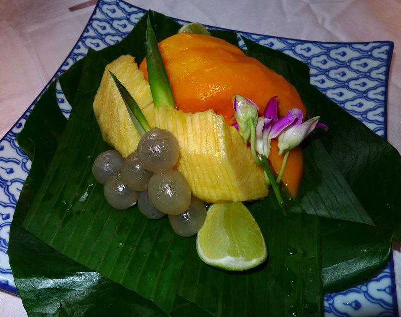 Restaurant Chez Ly : Salade de mangue