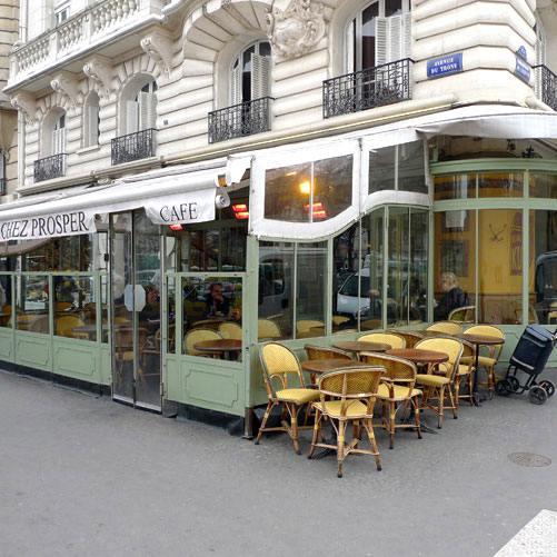 Restaurant Chez Prosper, La brasserie d'angle