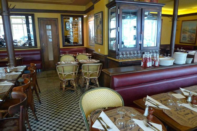 Restaurant Chez Prosper, la salle