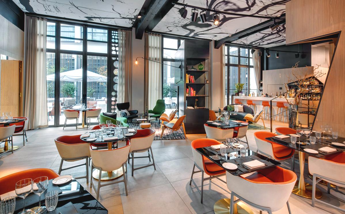 restaurant Chiquette, la salle