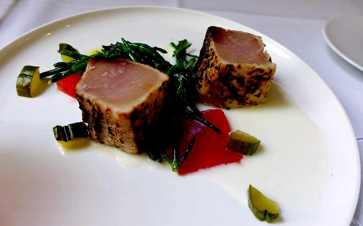 Restaurant Cléo, thon blanc mi-cuit