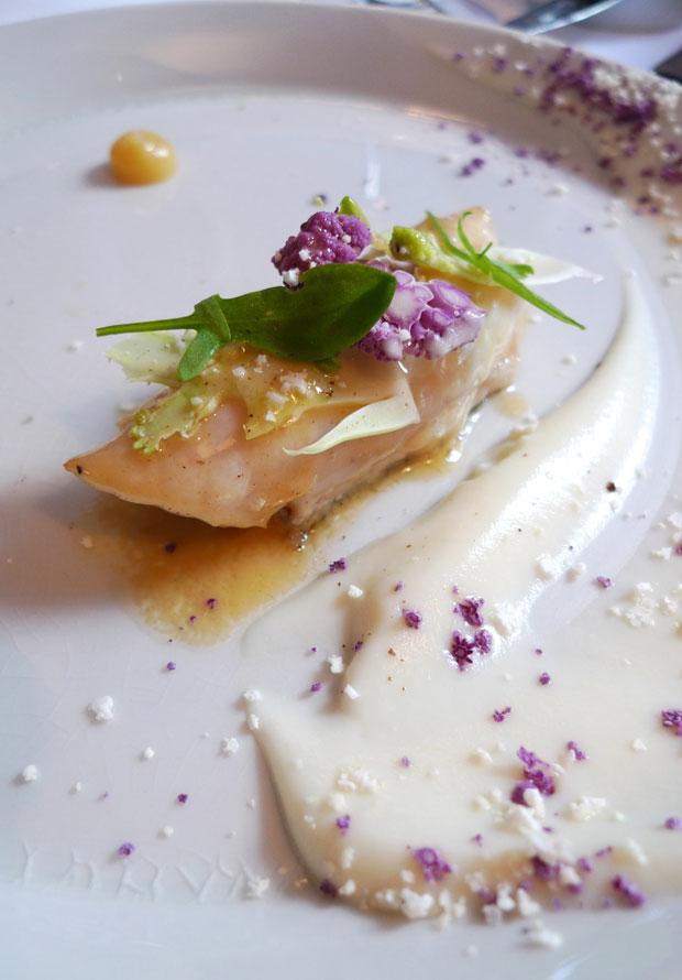 Restaurant COBEA, Saint-Pierre citron et chou-fleur