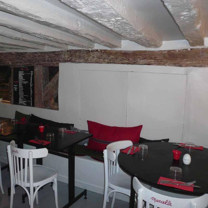 Restaurant Coco & Co, les tables