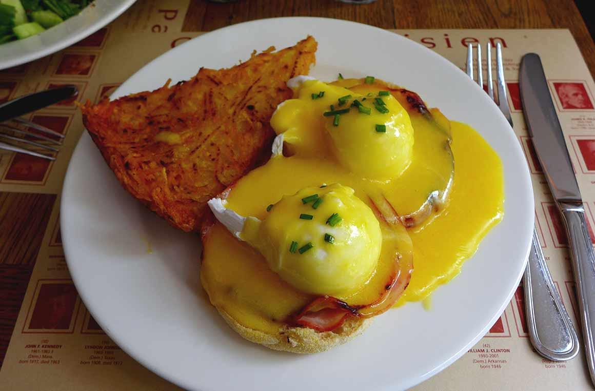 COFFEE PARISIEN, œufs Benedict
