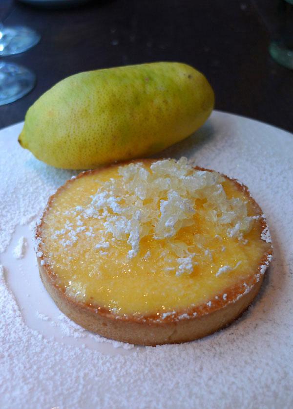 Restaurant Comme Chez Maman, La tarte citron collection