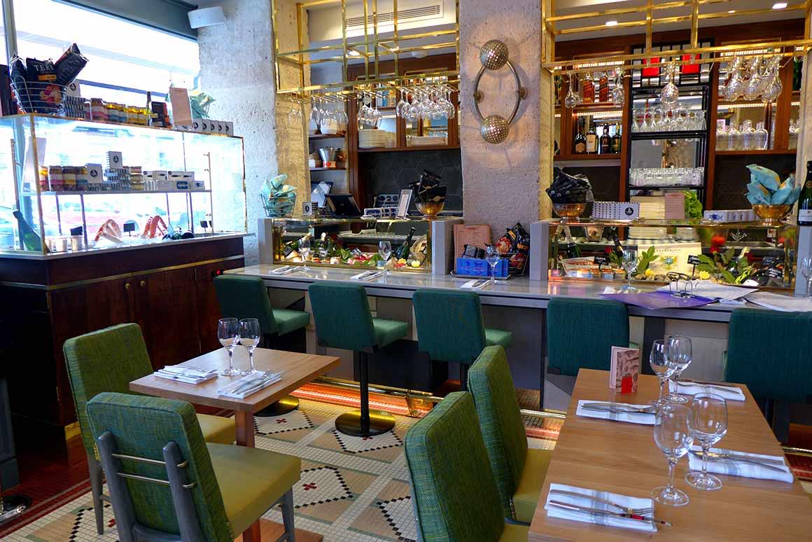 Restaurant Crabe Royal, la salle