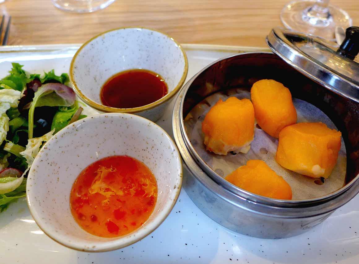 Restaurant CRABE ROYAL, Bouchées Vapeur au Crabe Royal