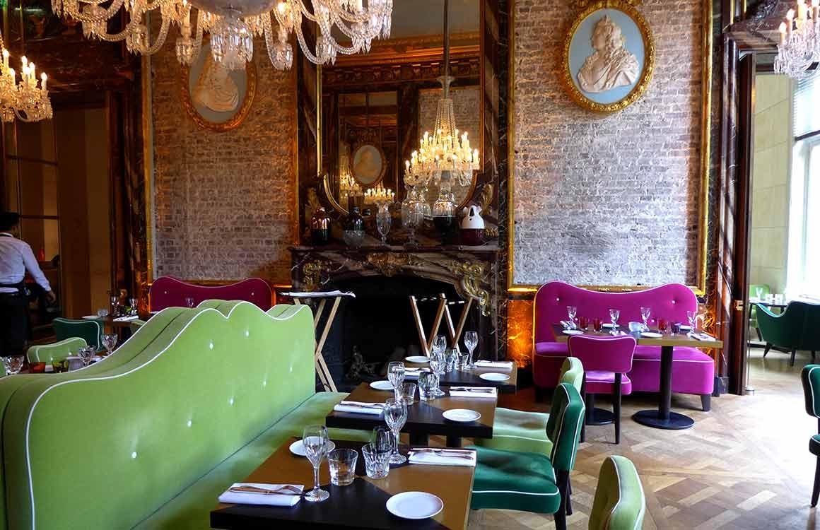 Restaurant Cristal Room Baccarat, la salle