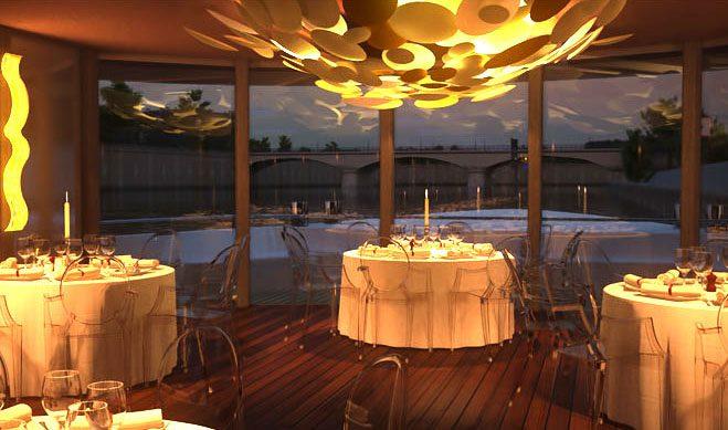 Pavillon Seine, un décor unique avec une belle vue