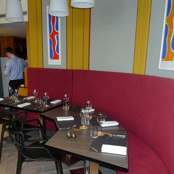 Restaurant Crom' Exquis : La salle