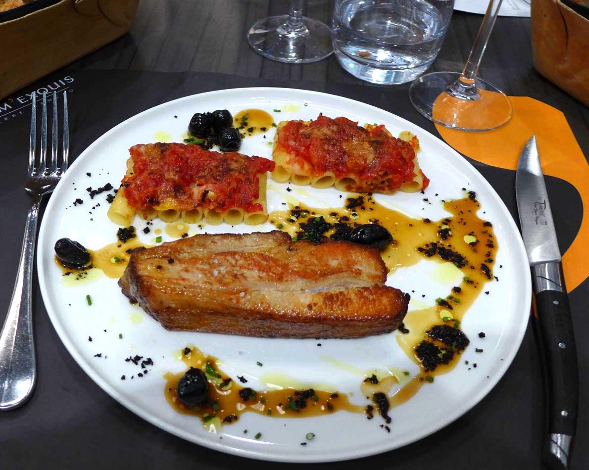 Restaurant Crom'Exquis : Tendron de veau