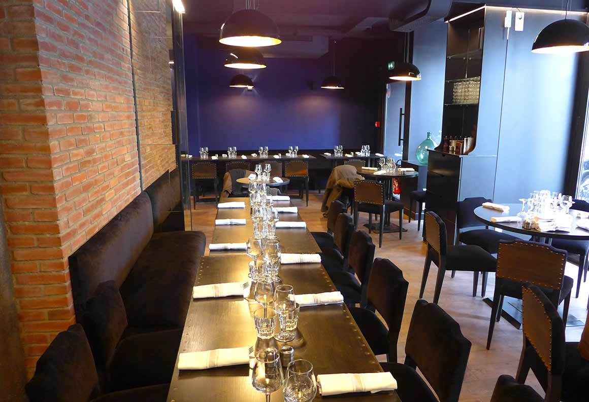 Restaurant Else, la salle