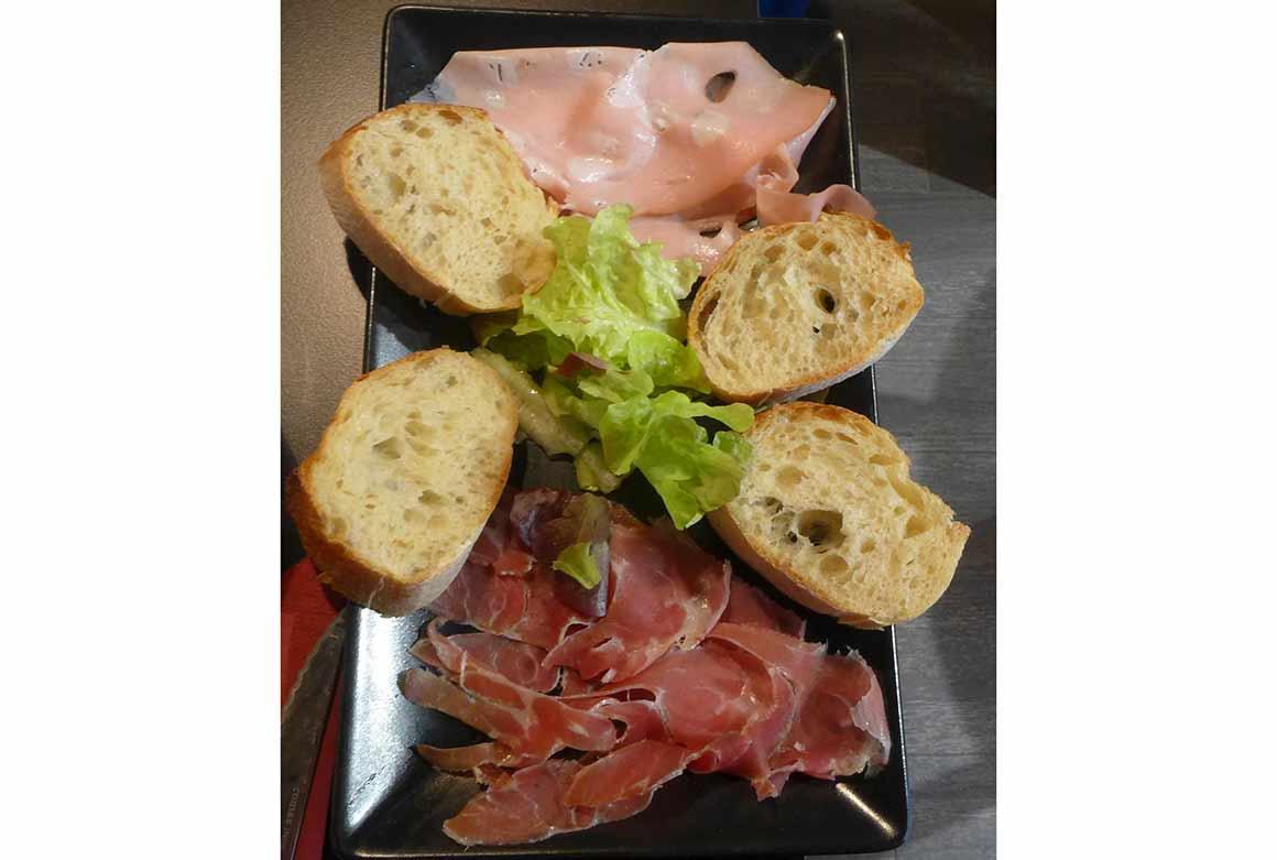 Restaurant Cuori Italiani, un plat