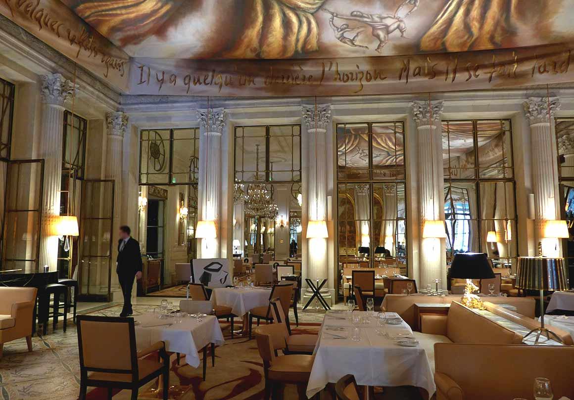 Restaurant Dali, la salle
