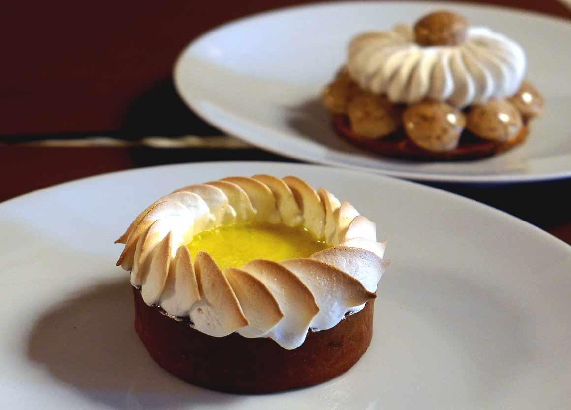 Restaurant Dali, tarte au citron