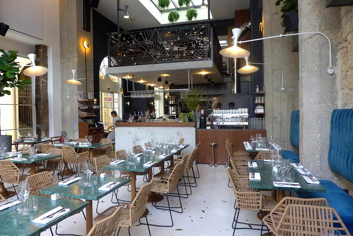 Restaurant Daroco, la salle