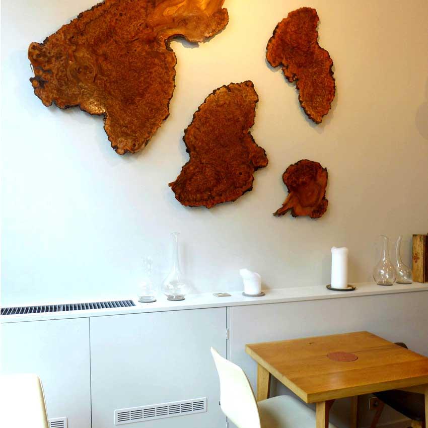 Restaurant David Toutain, la salle