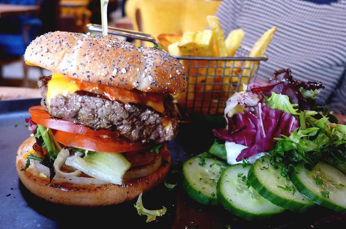 Brasserie Le Balthazar : Burger XL