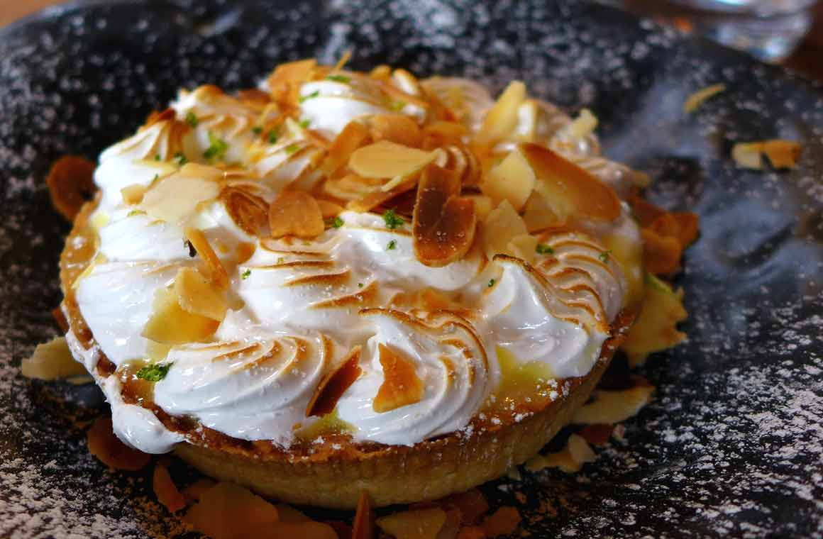 Brasserie Le Balthazar : Tarte au citron meringuée