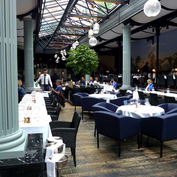Restaurant La Gare, La salle