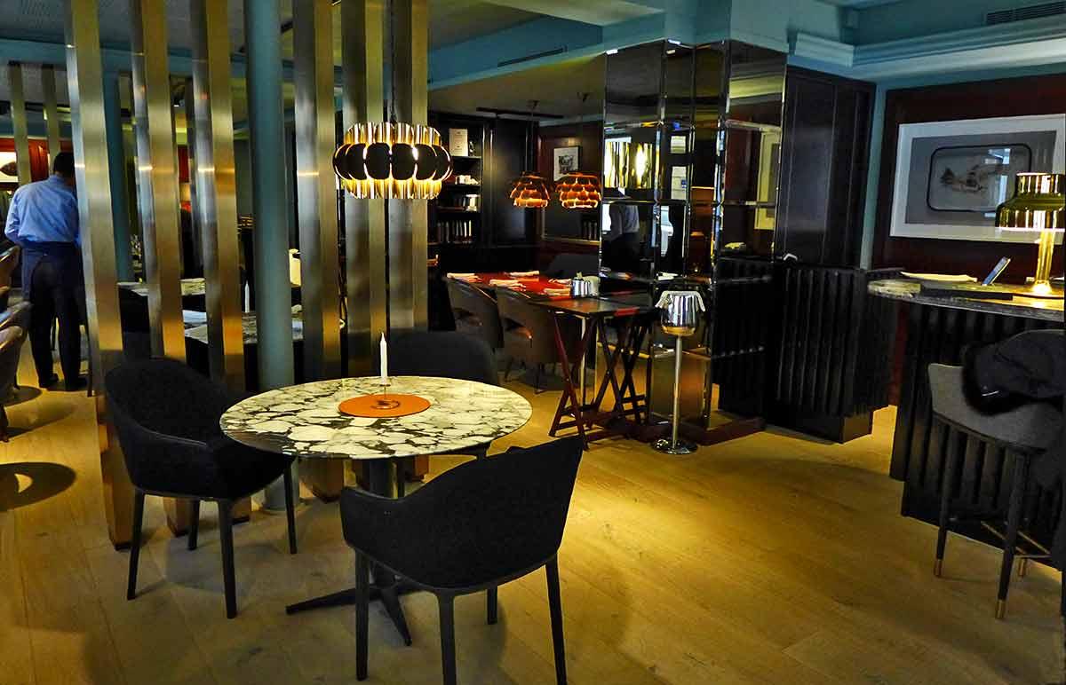 Restaurant Gaya, la salle