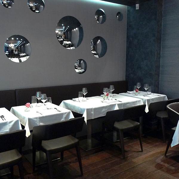 Restaurant Maxan, la salle