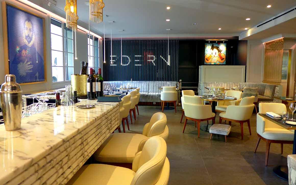 restaurant Edern, la salle