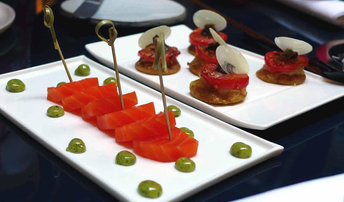 restaurant Edern, coeur de saumon d'Ecosse