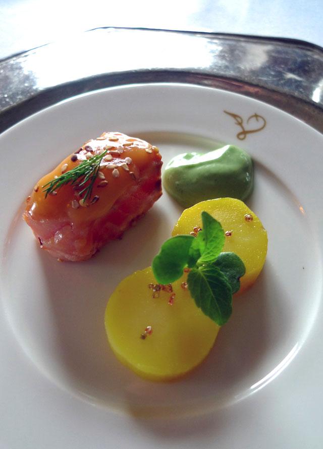 Restaurant Laperouse : Saumon fumé