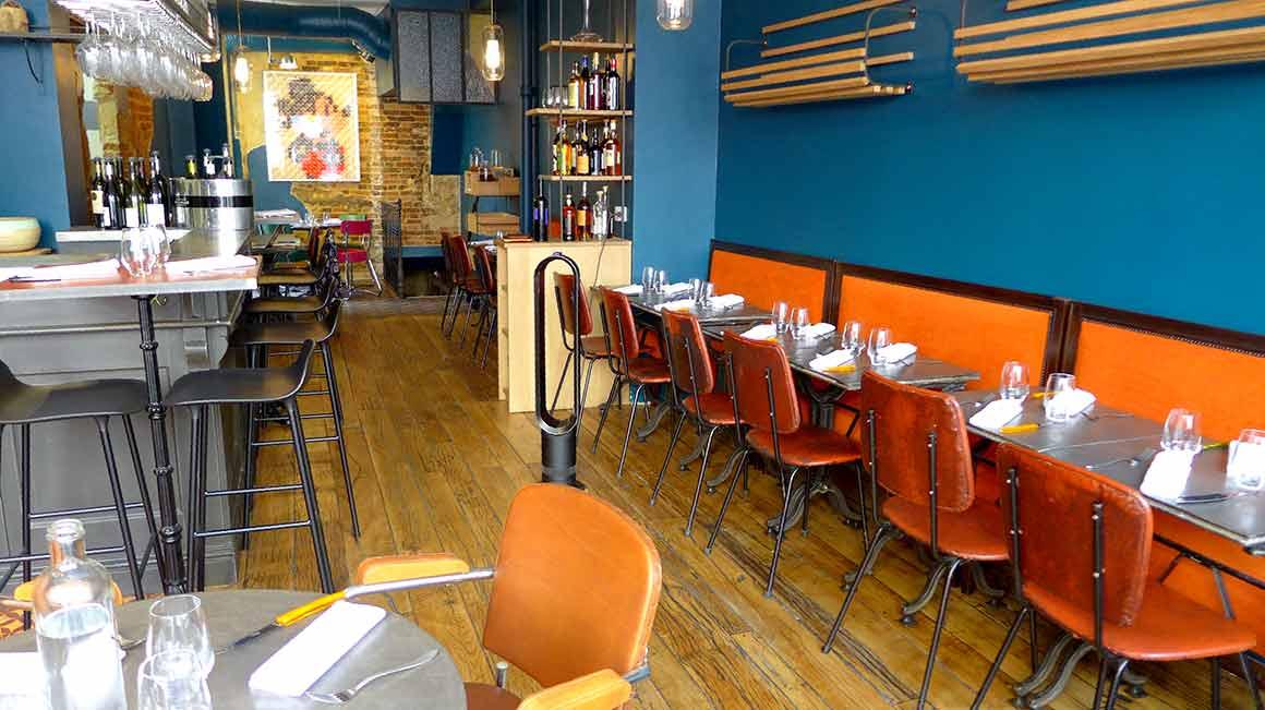 La salle du restaurant (V)ivre